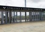 毛里求斯综合体育中心使用安笃达网栏及网门产品