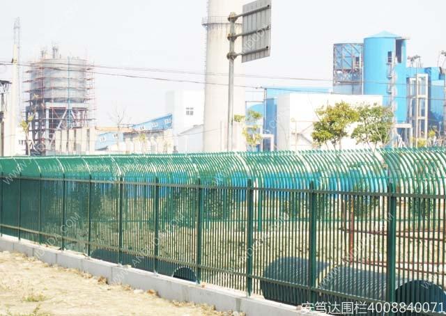 安笃达围栏华谊涂料精化金山项目