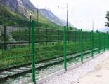 锌钢护栏厂家安笃达生产双横丝围栏网W2
